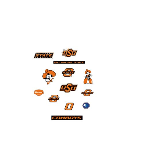Oklahoma State University Players (NCAA Oklahoma State Cowboys Team Logo Assortment Fathead Jr. Wall Decal)