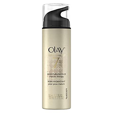 Olay Total Effects 7-In-1 Moisturizer Plus, Mature Therapy, 1.70 Fl. Oz. (Mature)