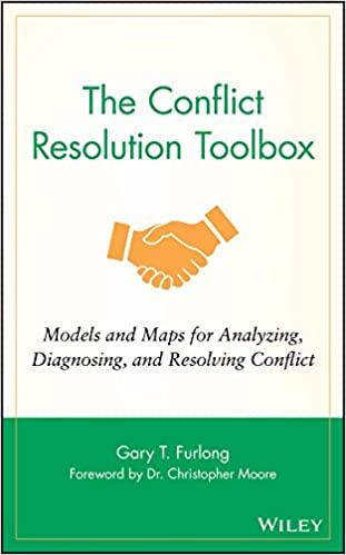 Diagnosing The Conflict Resolution Toolbox and Resolving Conflict Models and Maps for Analyzing