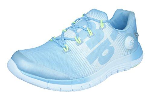 Reebok Zpump Fusion Womens Running Sneakers-Blue-6.5