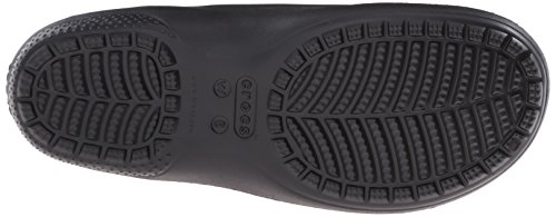 Crocs black Freesail Zuecos Negro Leopard gold Lined Para Mujer qWFq04Rwr