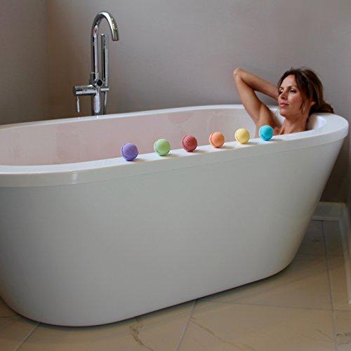Bath bombs gift set of 6 beach scents paraben free - Bombe da bagno lush amazon ...