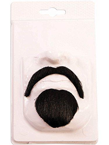 Forum Novelties Devil Mustache, Black, Standard]()