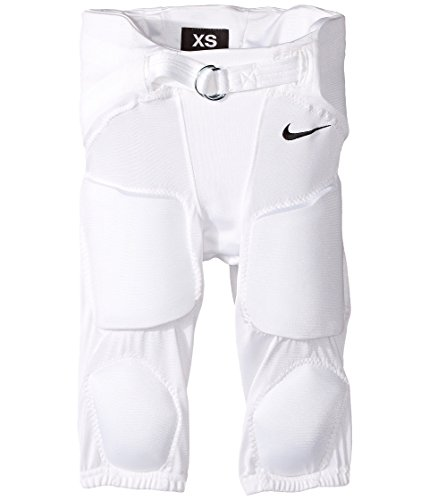Nike Boy's Recruit 2.0 Football Pant White/Black Size Medium