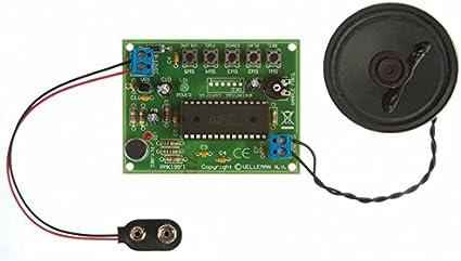 Velleman MiniKits Kit módulo de grabación y reproducción