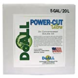 PART NO. RAM12300045 DoALL POWER-CUT Ultra, Water-Soluble Oil Cutting and Grinding Fluid, 5 Gallon