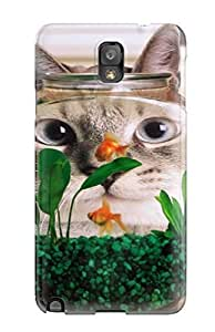 BFLGpkt4426BJCoH Cat Breakfast Fashion Tpu Note 3 Case Cover For Galaxy