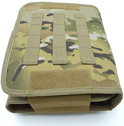 Basic Military Army Travel Cadet Camping Hiking Wash Bag Kit Pouch Multitarn MTP
