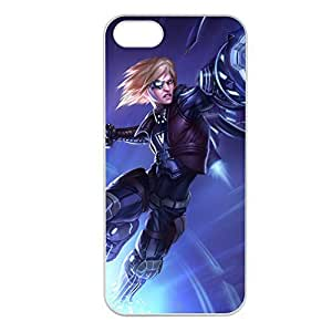 Ezreal-003 League of Legends LoL case cover for Apple iPhone 5/5S - Plastic White