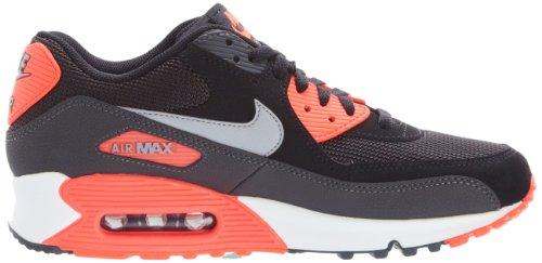 oxbrp Nike Air Max 90 Comfort Premium - Black - Black - Silver: Amazon