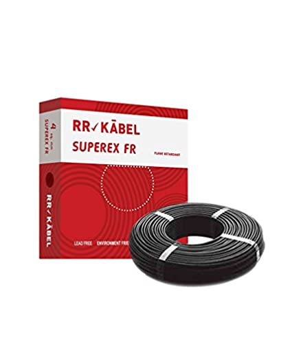 Rr Kabel Superex Fr Pvc Insulated Single Core Wire 4.00 Sq.mm