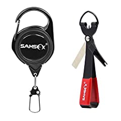SAMSFX FISHING MAKING YOUR FISHING MORE SIMPLER & EFFICIENTTips: Come with paper instructions in the pack For more knotting methods, please refer to the videoPay Attention: You can choose to buy a combination, or you can choose separate z...