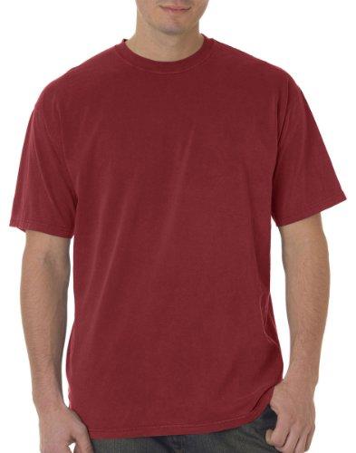 Hot Chouinard Men's Classic Heavyweight Rib Knit Collar T-Shirt