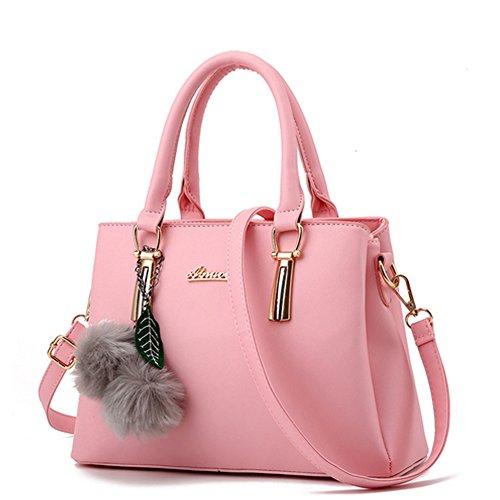 Unknown - Bolso mochila  para mujer azul marino rosa