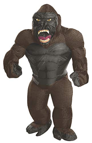Rubie's Costume Co. Men's Skull Island Inflatable King Kong Costume, As Shown, One Size