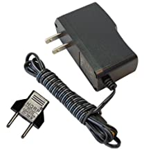 HQRP AC Adapter for TC HeliconVoiceLive 3 Power Supply Cord Adaptor + Euro Plug Adapter