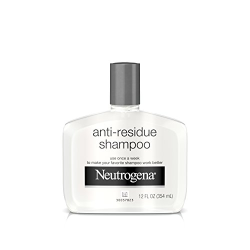 Neutrogena Anti-Residue Shampoo, Gentle Non-Irritating Clarifying Shampoo to Remove Hair Build-Up & Residue, 12 fl. oz from Neutrogena