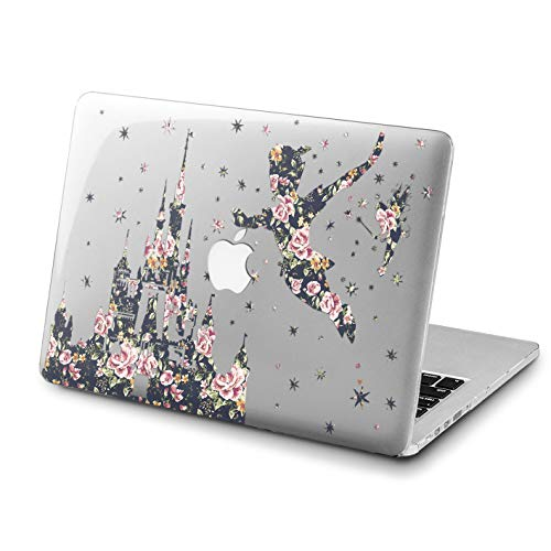 Lex Altern Disney MacBook Air Case 13 inch 2017 Model Pro A1989 15 2018 Flower Peter Pan Mac Clear Retina 12 Cover Hard Shell Floral Castle Laptop 11 Apple 2016 2015 Protective Girl Vintage Print]()