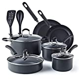 Best Hard Anodized Cookware Sets - Cook N Home 02597 Nonstick Hard Anodized Cookware Review