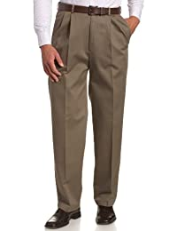 Men's Work-To-Weekend No-Iron Pleat-Front Pant with...