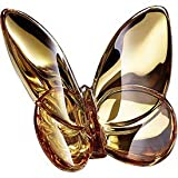 Baccarat Crystal 20K Gold Butterfly
