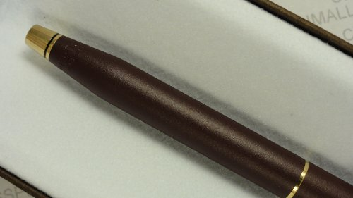Cross Made in the USA Classic Century Satin Burgundy and 23k Appointment Ballpoint Pen ( Clipless edition)