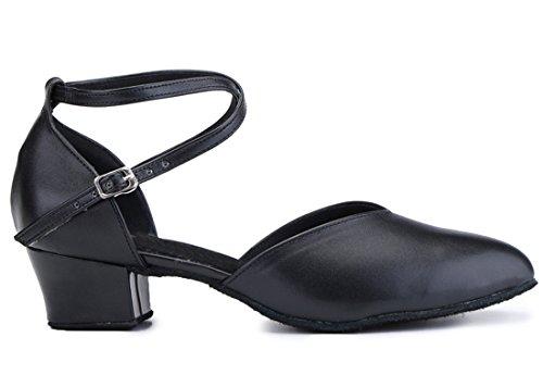 Donna Heel Moderno Black MGM 4cm Style1 Jazz e Joymod Ua4qg