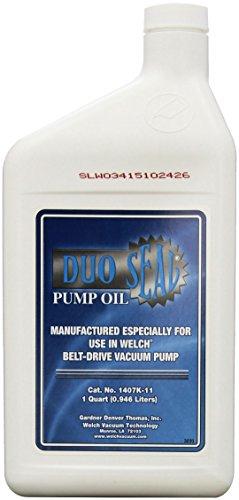 (Welch Vacuum 1407K-11 Duo Seal Oil, 1 Quart)