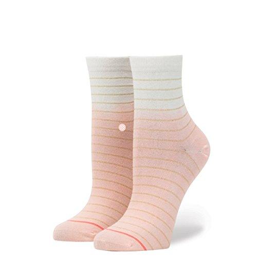 Stance Women's Dip Toe Lowrider Pink (Lowrider Womens Socks)
