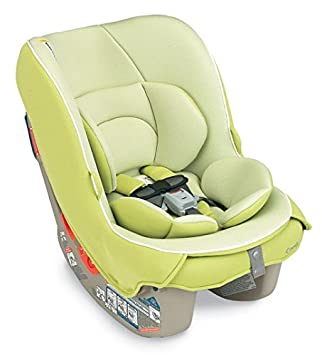 Combi Compact Convertible Car Seat for Baby and Toddler Fits Three Across Coccoro – Keylime