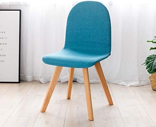 TONG YUE SHOP Tissu Chaise Simple Bureau Moderne de Bureau Chaise Maison créative Chaise Mode Adulte Chaise rembourrée Tabouret