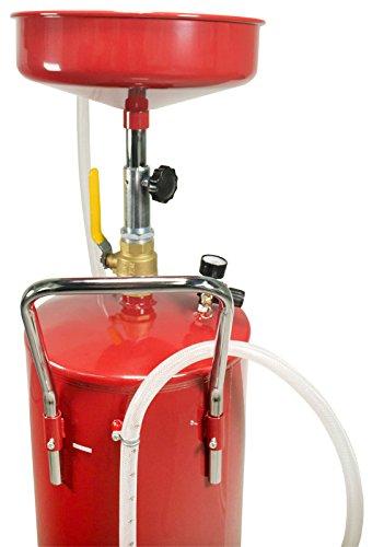 Dragway Tools 18 Gallon Oil Waste Drain Tank Pan for Lift Jack Hoist Shop Crane by Dragway Tools (Image #6)