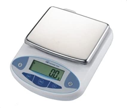 Digital equilibrio escala 10 kg, 10000 g 0,1 g Precisión precisa báscula digital