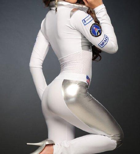 Save & 3WISHES u0027Sexy Astronaut Costumeu0027 Sexy Female Astronaut Halloween ...