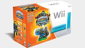 Skylanders Giants Blue Nintendo Wii Console Bundle Pack