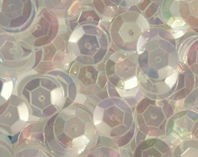 5mm Haute Cup Sequins Loose Iris Iridescent Embellishment Craft 1000 Pcs. ()