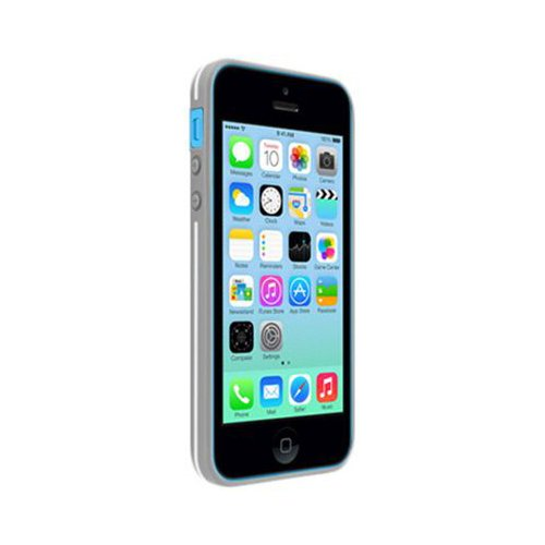 PureGear iPhone 5C Slim Shell Case - Retail Packaging - Vanilla Bean (Pure Gear Slim Shell Iphone 5c)