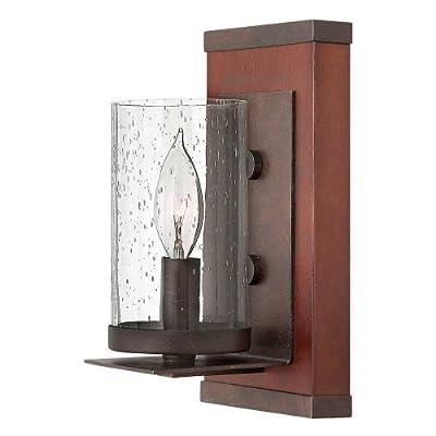 Fredrick Ramond FR40200IRN, Jasper Candle Wall Sconce Lighting, 1LT, 60 Watt, Rustic Iron