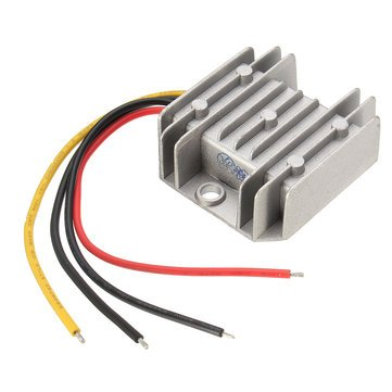 Price comparison product image Arduino Compatible SCM & DIY Kits Module Board - Waterproof 12V / 24V To 5V 10A 50W Step Down Converter Regulator Power Module - 1 x DC 12V / 24V to 5V 10A 50W Step Down