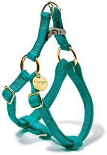 product image for Found My Animal Teal Cotton Cat & Dog Harness, Small