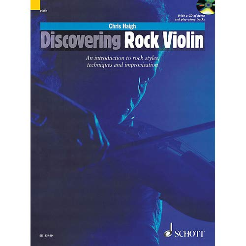 Discovering Rock Violin Schott Series Softcover with CD