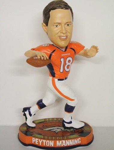 Peyton Manning Denver Broncos 2012 Thematic Base Bobblehead by Forever Collectibles