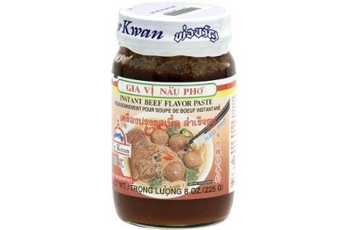 Instant Soup Paste (Beef Flavor) - 8oz (Pack of 3)