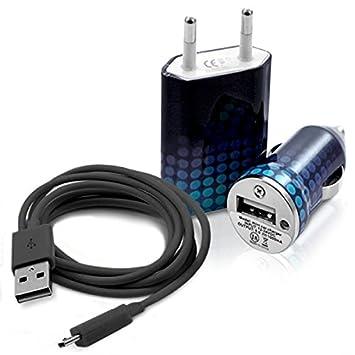 Seluxion - Cargador auto Sector USB diseño CV10 para Samsung ...