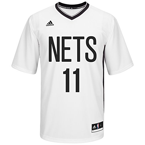 NBA Men's New Jersey Nets Brook Lopez Replica Player Pride Jersey, Large, - Replica Adidas Nba White Jersey