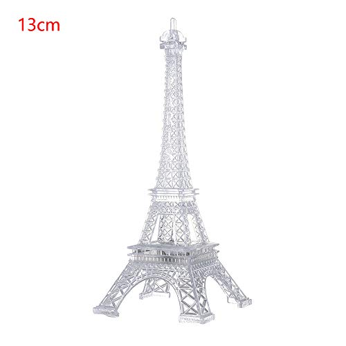 Flexible Desk Lamp Bedroom Child Gift Night Light Eiffel Tower Color Changing 3D LED