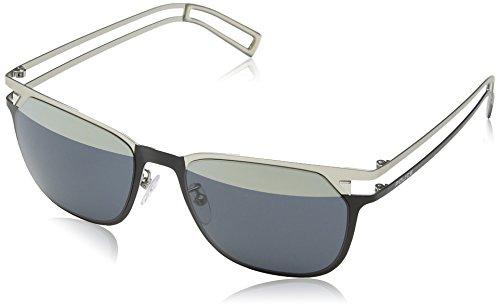 Police Neymar JR 6 S8965 W01H (Black - Silver with Grey blue - Online Police Sunglasses