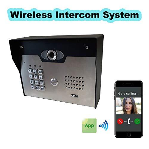 SEACOM Security, Access Control Wireless Intercom System Video/Audio Communication ()