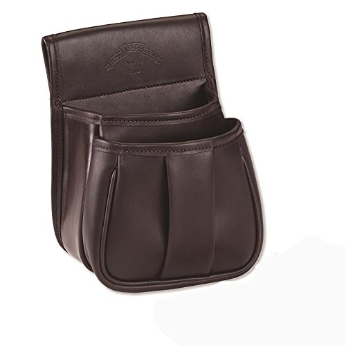 Galco Leather Trap and Skeet Pouch, Dark Havana Brown by Galco