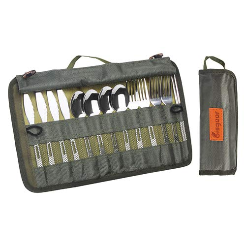 Bisgear Silverware Backpacking Stainless Utensil Include product image